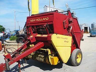 New Holland 849 Round Baler Parts Helpline at 1-866-441-8193